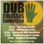 Tour dates February 2015